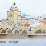 Albuquerque Station Travel Sketch